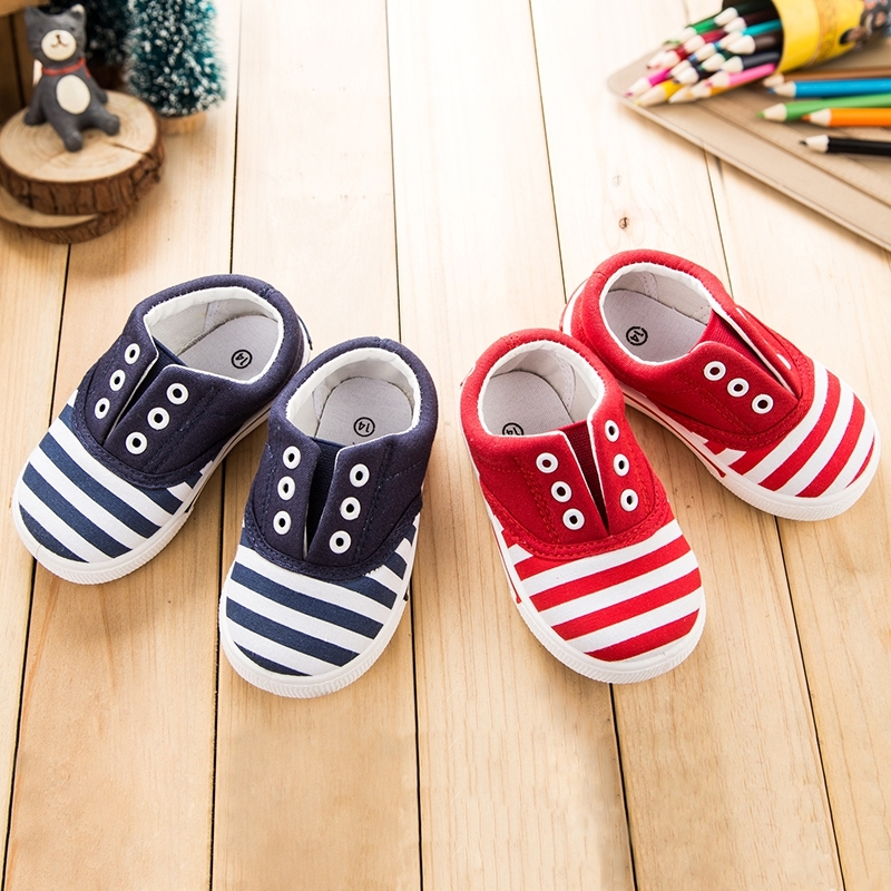 2016 new spring autumn children shoes kids sneakers for baby boys and girls canvas shoes pure candy Insole12.8~16.2cm(China (Mainland))