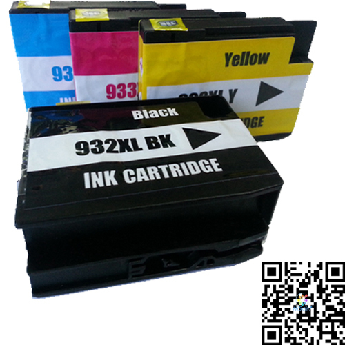 ( 4 pieces/set )Ink Cartridge Printer for HP 932XL 933XL Compatible HP Officejet 6100 ePrinter,6600,6700,7110,7610 Kartrid Tinta<br><br>Aliexpress