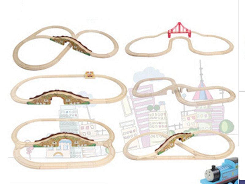 wooden thomas & his friends trains track toys for kids, children toys(China (Mainland))