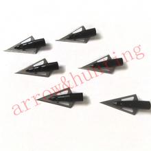6 pieces lot hunting arrow head 100 grain outwear broadhead practice arrow point suitable for archery