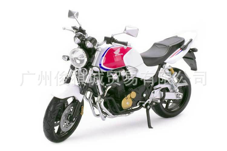 hot sale Junki otto American HONDA HONDA motorcycle alloy model CB1300SF 6026 1:12 whitemetals motor models for collection(China (Mainland))