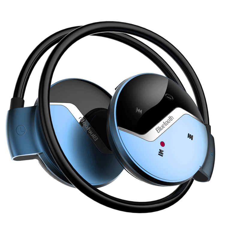 mini wireless bluetooth earphone sports microphone handfree stereo HD Sound lightweight fashion Red - Ibluetooth Electronics store