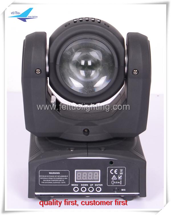 Free shipping(10/lot) hot sell two site 20w mini beam light/rgbw led mini beam moving(China (Mainland))