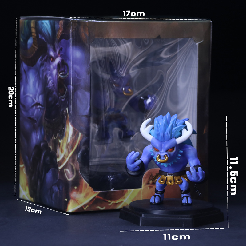 MOBA Game ACGN Action Figure Alistar LOL Collection Doll PVC 11.5cm Box-Packed Game Heros Alistar Figurine As Gift For Friend(China (Mainland))