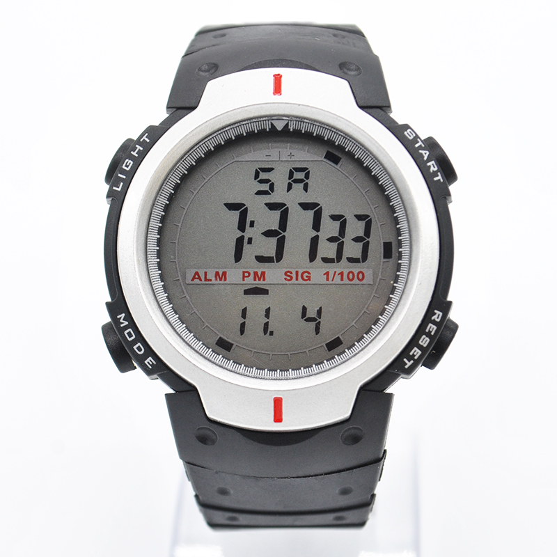 2015 New Digital Watch Men Analog Watch Silicone Digital Men s Sports Outdoor Quartz Wrist Military