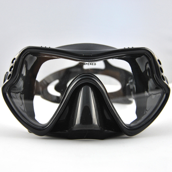 Hot sale Single lens panorama dive mask,adult scuba and snorkel diving masks and equipment