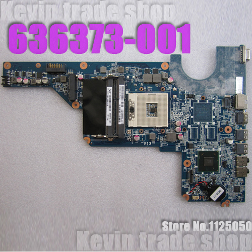 Free shipping 636373-001 motherboard for HP pavillion G4 G6 G7-1020es laptop mainboard DA0R13MB6E0 INTEL Fully work &100% Tested(China (Mainland))