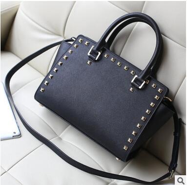 New Fashion Women Brand Designer Inspire Shoulder Bags Trapeze Big Ears Smiley Swing Tricolor Lock Celebrity Handbag(China (Mainland))