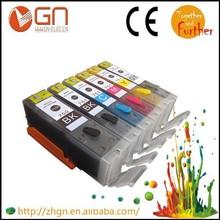 5PK edible ink cartridge PGI750 CLI751 for Canon MX727 MX927 MG5570 MG6470 IX6770 IX6870 printer PGI 750 CLI 751