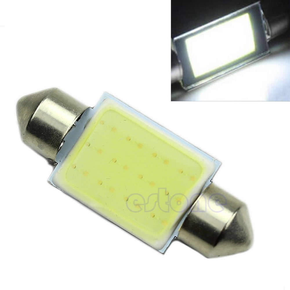 36mm Festoon CAN BUS C5W PLASMA COB LED SIZE Interior White SMD Bulb Z101(China (Mainland))
