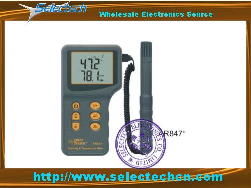 Digital Temperature and moisture Meter SE-AR847<br><br>Aliexpress
