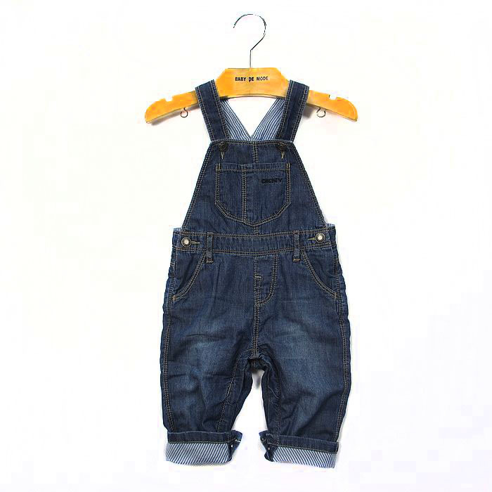 free shipping 2014 Retail 1 pcs Top Quality!boy denim overalls kids bib pants children casual in stock<br><br>Aliexpress