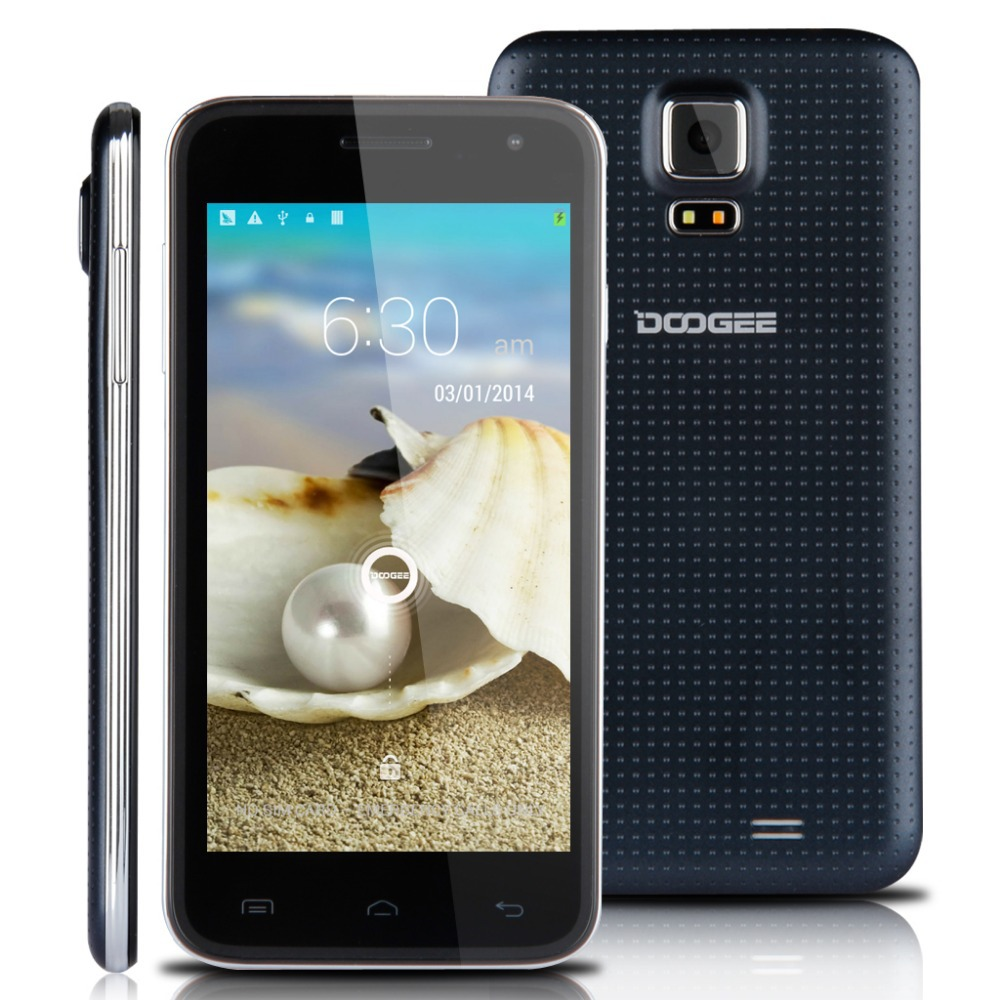 5'' DOOGEE DG310 IPS Screen 3G Smartphone Android 4.4 MTK6582 1.3GHz Quad Core Mobile Phone Dual SIM 1G RAM 8G ROM Phone(China (Mainland))
