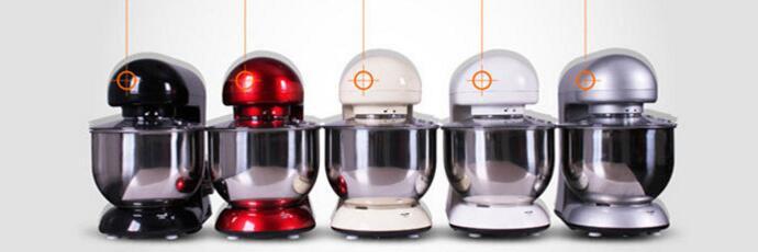 5.2L low noise 1000w kitchen multifunctional 13500RPM stand mixer ,food mixer,dough mixer(China (Mainland))