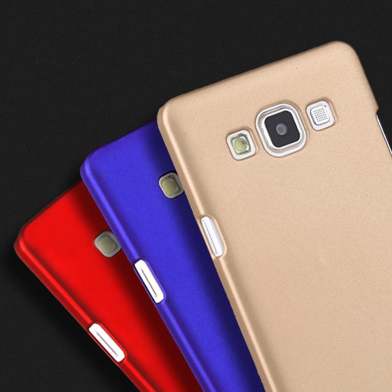 Anti-skid Rubber Matte Hard Plastic Case For Samsung Galaxy 2016 J1 J3 J2 J5 J7 Prime A3 A5 A7 C5 C7 J510F Cell Phone Back Case(China (Mainland))