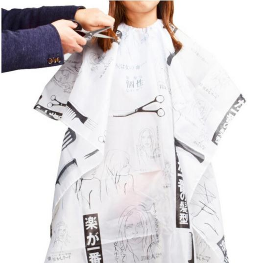Hairdressing Hair Design Cut Salon Hairstylist Barber Nylon Gown Cape Cloth(China (Mainland))