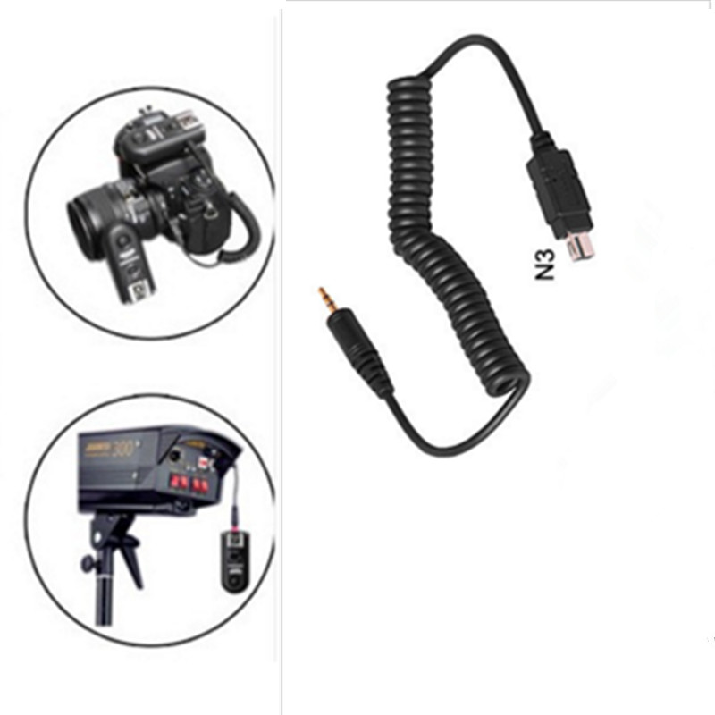 image for Yongnuo RF-603 N3 Shutter Release Trigger Cable RF603 N3 For D600 D610