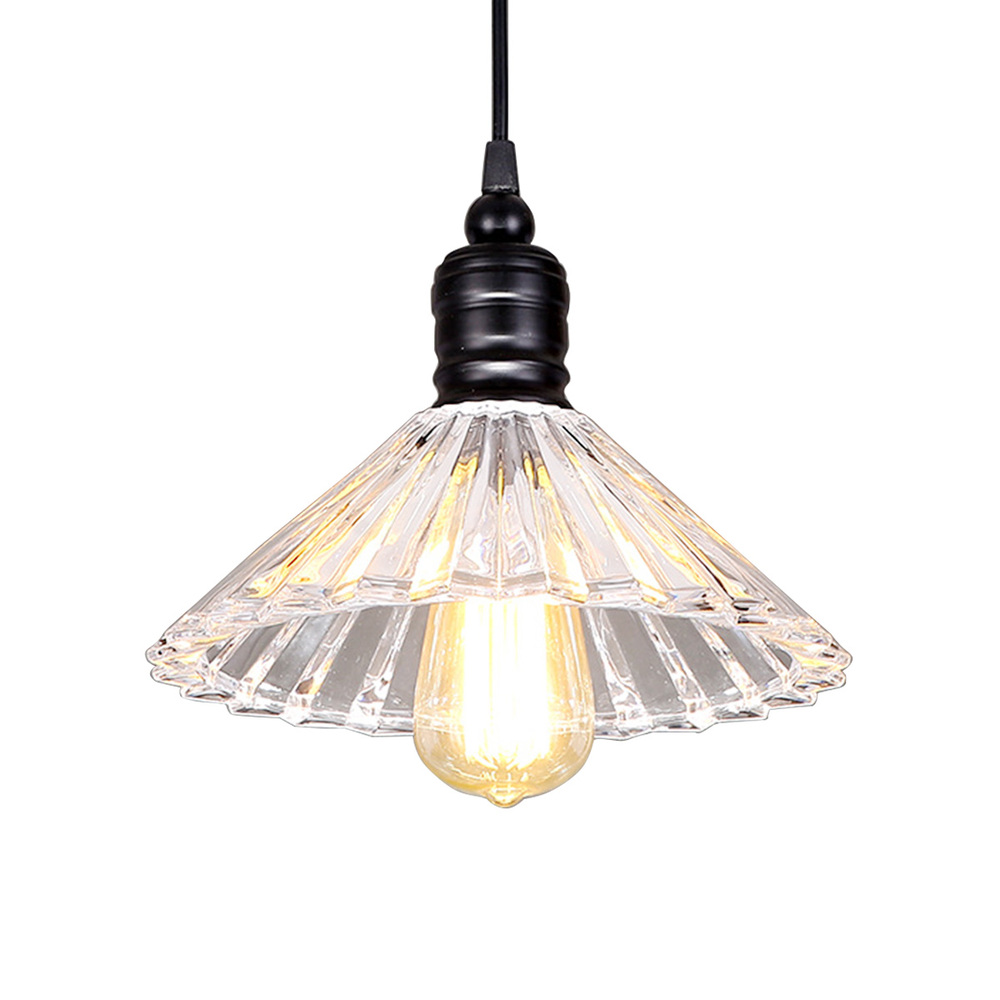 Modern Simple Crystal Pendant Lamp Simple Loft Pendant