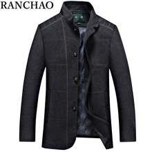 Hot Selling 2015 New Fashion Men Jacket Men's Outerwear Casual Wool & Blends Clothing Brand Men Jacket Big Size 3XL(China (Mainland))