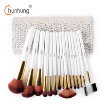 MSQ Professional Makeup Brushes Set 15pcs/set Top Quality Makeup Set Fashion Make Up Brushes Tool For Beauty Cosmetic Brushes