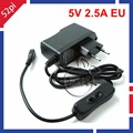 Raspberry Pi 3 Model B 5V 2 5A Power Supply Adapter EU Plug Charger with ON