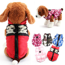 Buy 2016 New Pets Dogs Coat Jacket Pet Supplies Clothes Winter Apparel Clothing Puppy Costume cute ptint outwear free for $6.20 in AliExpress store