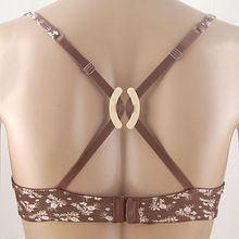 Hot Sale Cheap Women's Push Up Cleavage Control Invisible Bra Strap Belt Clip Buckle Non-slip Buckle free shipping(China (Mainland))