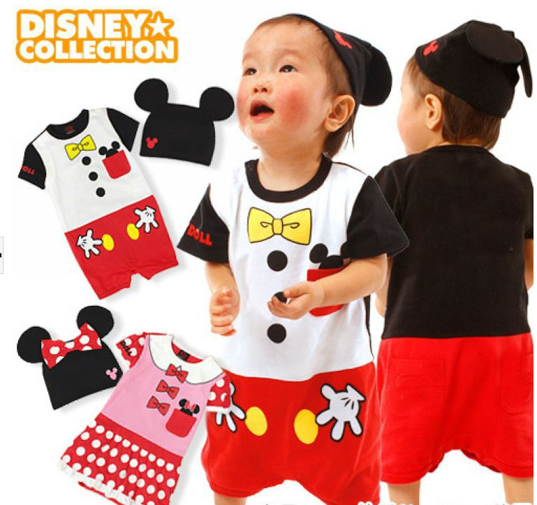 Kids Baby Rompers Fit 0-2yrs Girls Boys Summer Children Shorts Pants One-Piece 2color 3Size - sonia hu's store