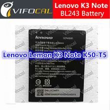 For Lenovo K3 Note Battery 2900mAh BL243 100% New Battery For 5.5inch For Lenovo K50-T5 A7000 Mobile Phone + Free Shipping(China (Mainland))