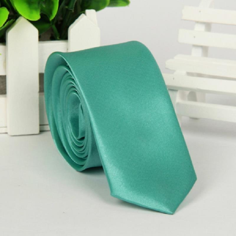 brand ties gravata corbatas hombre Blue green man Polyester 5cm necktie Watch video below(China (Mainland))