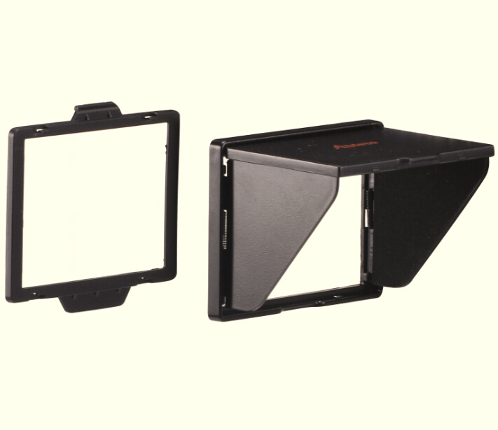 Camera Screen Hood : Popup shade lcd hood for screen cover protector d