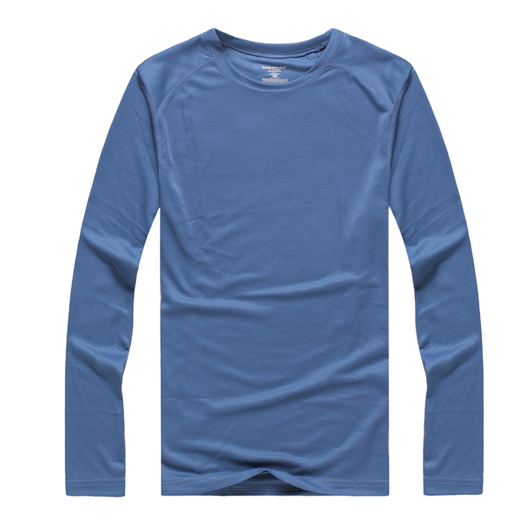 Men outdoor long sleeve t shirts uv protection fast dry for Mens long sleeve uv protection shirt
