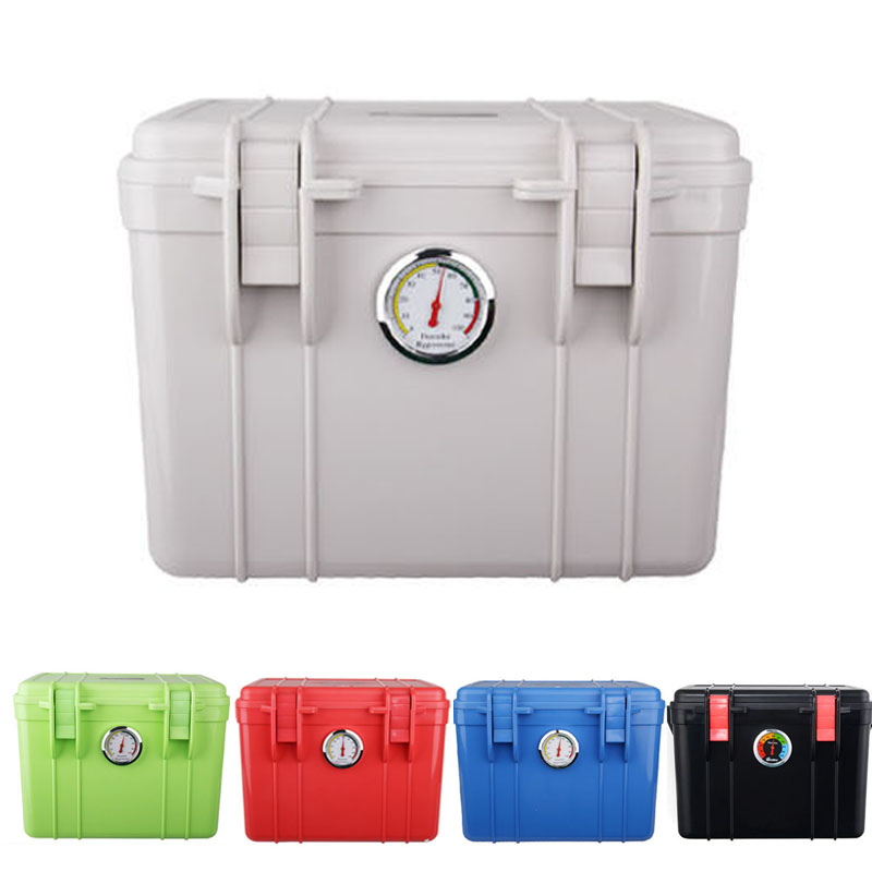 Small Waterproof Shockproof Case Dry Moistureproof Storage Seal Box Hygroscopic Card For DSLR SLR Photography Camera and Lens(China (Mainland))