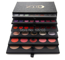 Free Shipping New Arrived Pro 134 Colors 6 Layers All-in-One Makeup Palette Set Eyeshadow Lipgloss Concealer Blush Face Powder(China (Mainland))