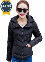 New Wadded Winter Jacket Women Cotton Short Jacket Fashion 2016 Girls Padded Slim Plus Size Parkas Stand collar Coat DT1