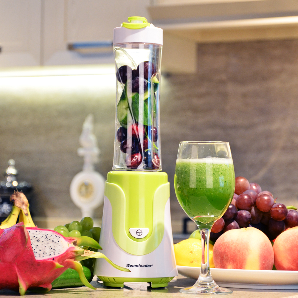 (Stocked in USA) Homeleader  K01-032 Travel Blender / Personal Blender with Travel Lid, Green<br><br>Aliexpress