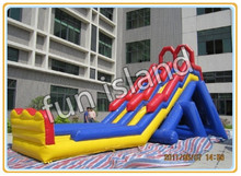 giant combo jumping castles inflatable water slide(China (Mainland))