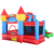 YARD Newest combo slide jumping castle inflatable bouncer house jumper jumping moonwalk with ball pool
