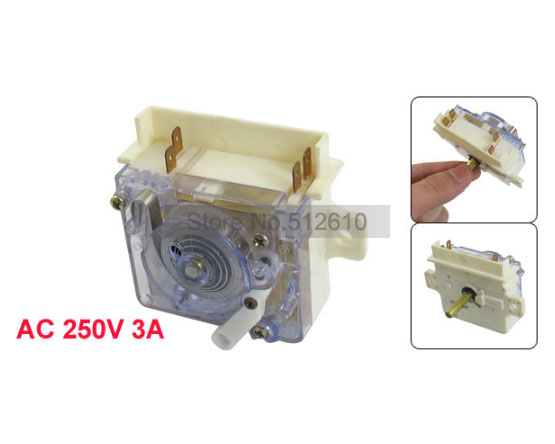 Washing Machine Wash Control 4 Pin Timer Spare Parts AC 250V 3A for Haier Free Shipping(China (Mainland))