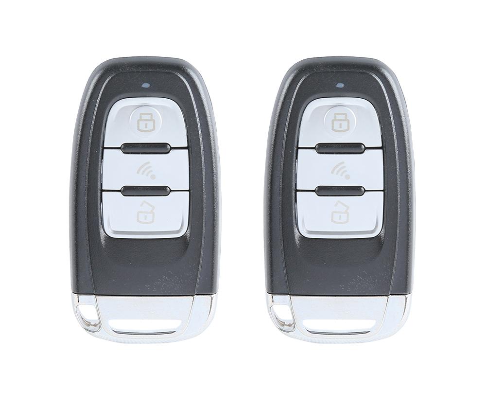 Rolling code PKE car alarm passive keyless entry, remote start push start password entry immobilizer bypass auto lock unlock(China (Mainland))