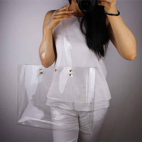 2015 Fashion Women Handbag Clear Transparent Bag Women Shoulder Bags Beach jelly Bag Z153(China (Mainland))