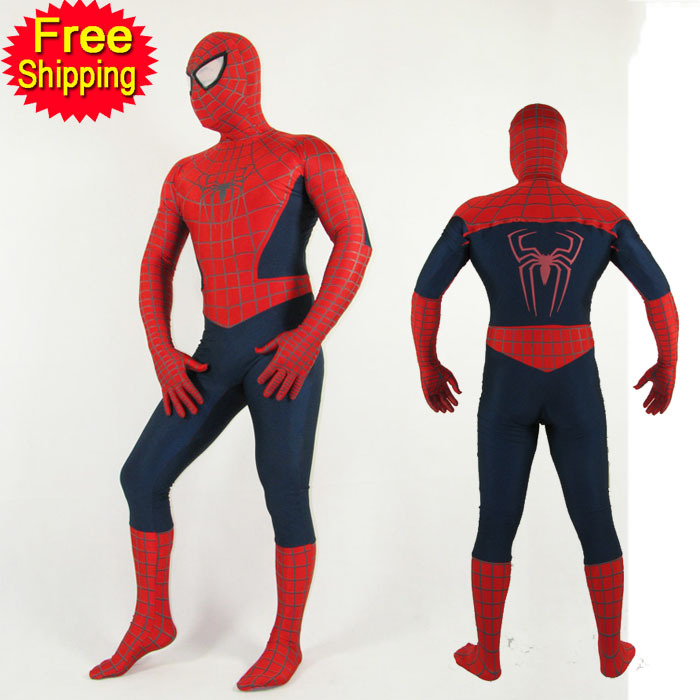 achetez en gros costume spiderman adultes en ligne des grossistes costume spiderman adultes. Black Bedroom Furniture Sets. Home Design Ideas