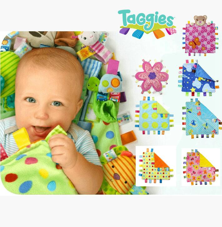 Baby blanket Taggies Peek A Boo Flower Me Fun Baby Blanket ...