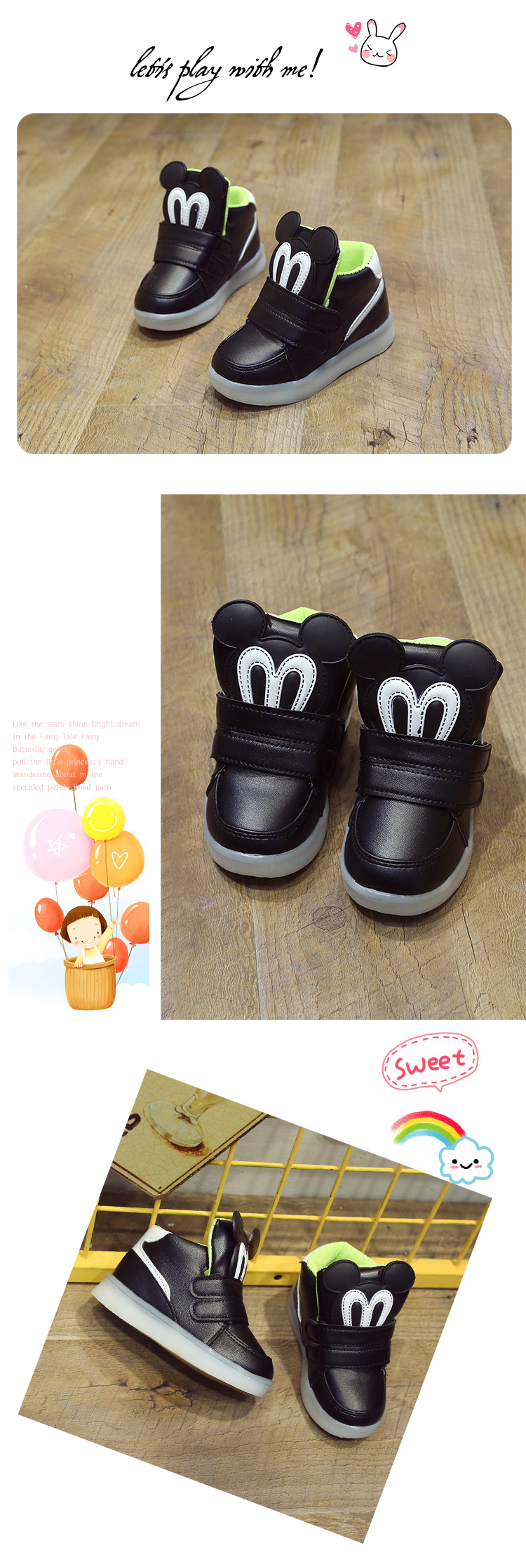 5105fca12a09d Children Shoes With Light Led Boys Sneakers 2017 New Spring Cartoon Lighted  Sport Fashion Girls Shoes Chaussure Led Enfant - us299