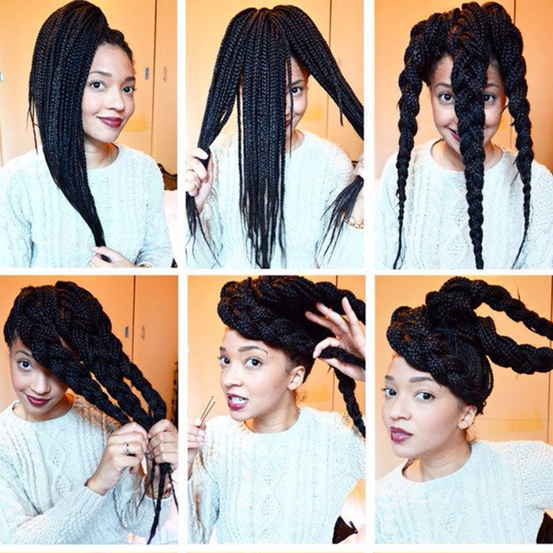 New Arrival High Quality Synthetic Jumbo Braiding Hair Extension Synthetic Hair Braid Jumbo Twist Crochet Braid(China (Mainland))