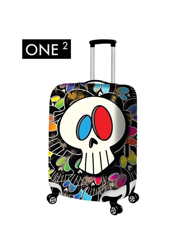 One2 desain baru dasar pada print bagasi penutup, Perbedaan inch bagasi penutup, Pola mulut besar populer childern bagasi penutup