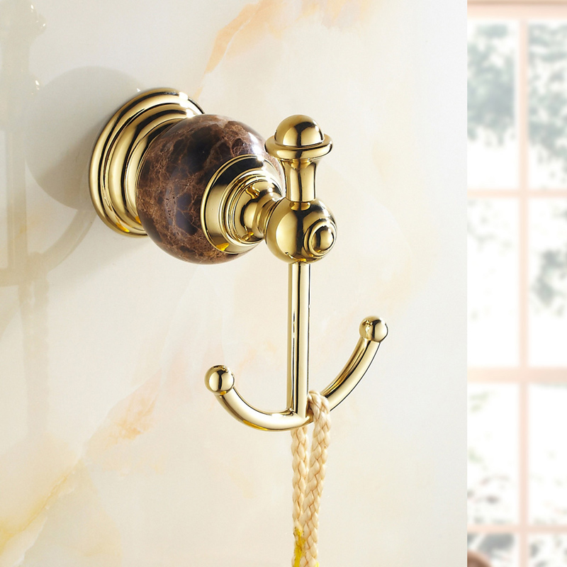 free shipping european style dual marbletowel holder