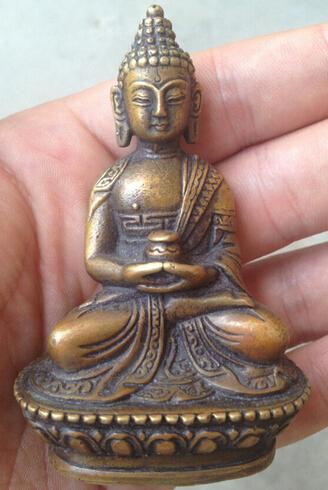 free shipping Antique hands Tibetan buddha Bodhisattva Bronze Buddha Statue(China (Mainland))