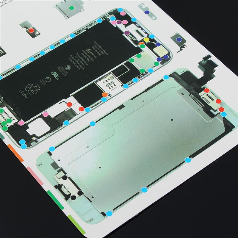 Professional Screw Magnetic Chart Mat Work Pad Opening Repair Tool Screws Holder For iPhone 6S 6 Plus 6 5s 5 4s 4