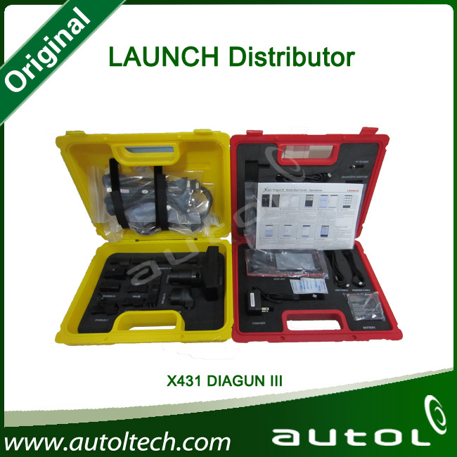 [Launch Authorized Distributor ] Launch X431 Scanner Launch X431 Diagnostic Tool Launch x431 Diagun III Update Online(China (Mainland))
